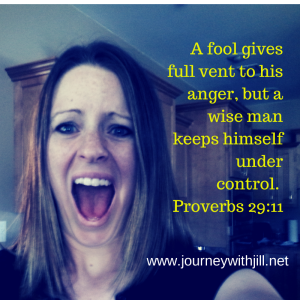A fool gives full vent to his anger, but