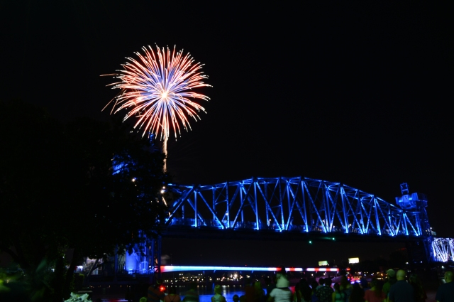 Fireworks Pops on the River