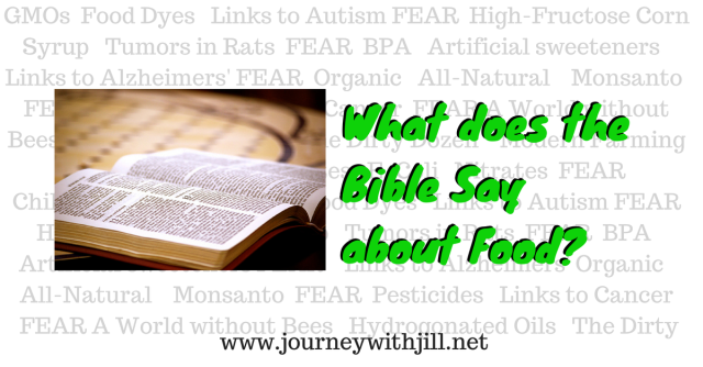 What does the Bible say about food