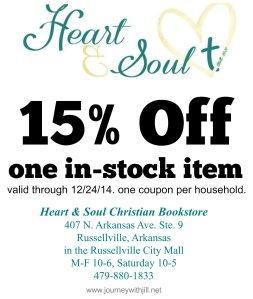 Heart & Soul coupon